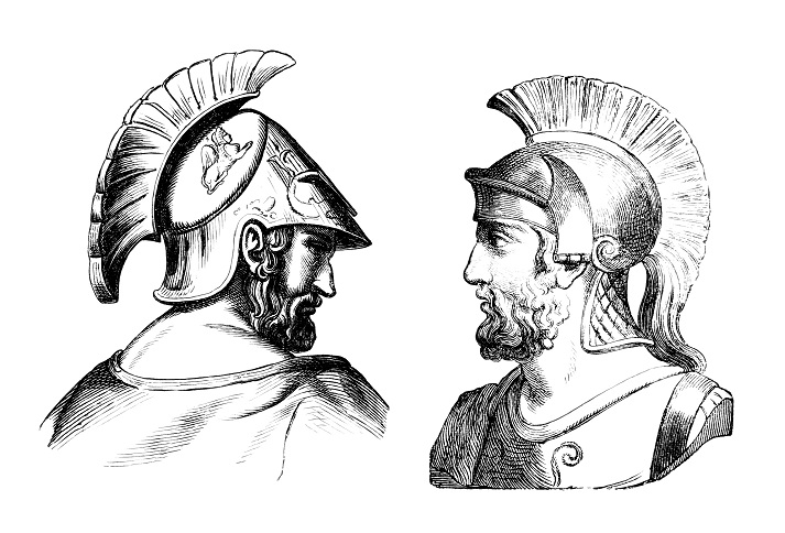 Spartan and Athenian Soldiers Educational Resources K12 Learning