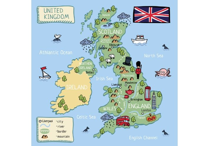 The United Kingdom Educational Resources K12 Learning