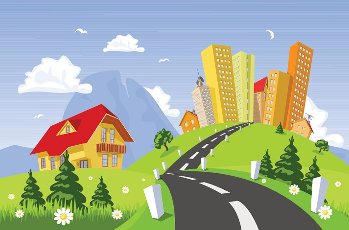 Cities, Towns, and the Country Educational Resources K12 Learning