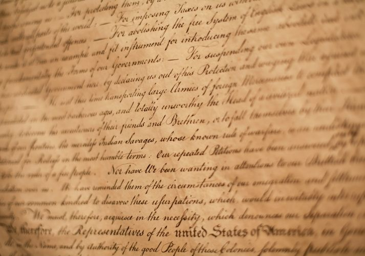 The Declaration of Independence As Literature Educational Resources K12 Learning