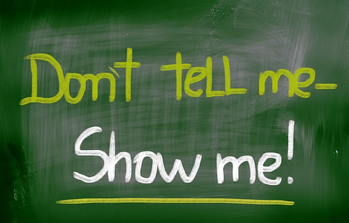 Don't Tell Me, Show Me! Educational Resources K12 Learning