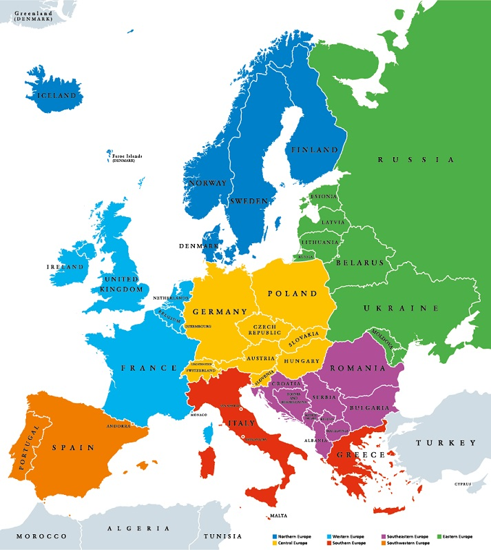 Western Europe Educational Resources K12 Learning