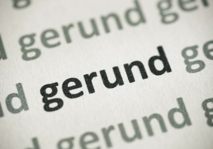 What Is a Gerund, and What Does It Do? Educational Resources K12 Learning