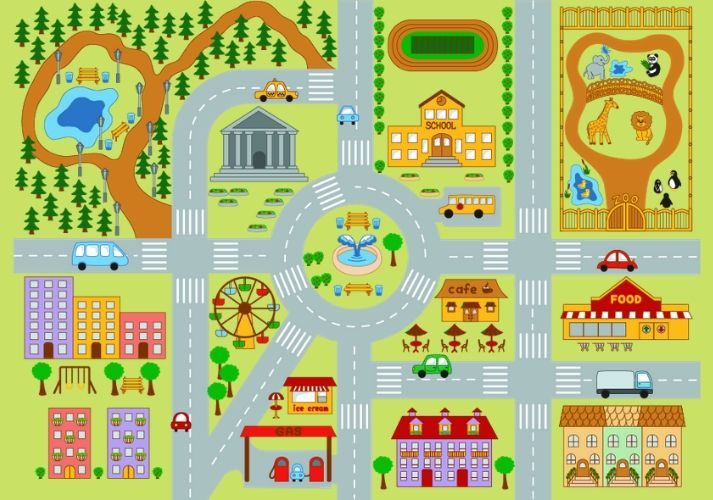 Neighborhood Maps Educational Resources K12 Learning