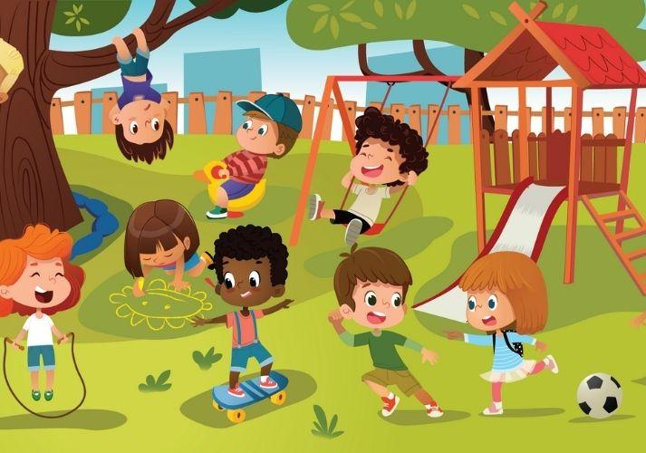 Spanish: Los Niños Están en el Parque. Educational Resources K12 Learning