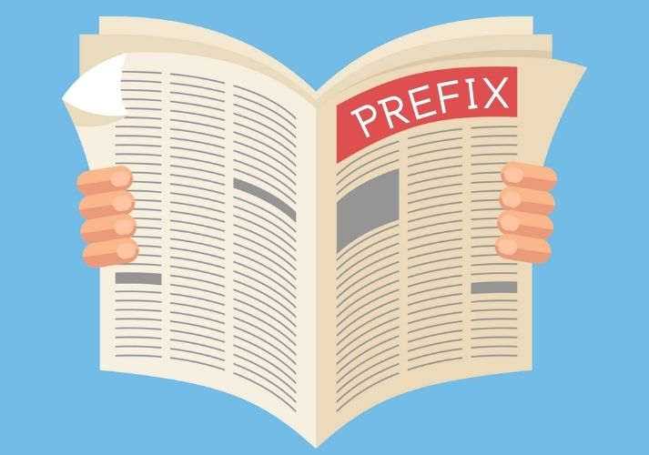 Prefix, Prefix: Read All About It! Educational Resources K12 Learning