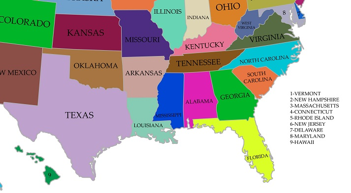 Regions of the U.S. - South Educational Resources K12 Learning