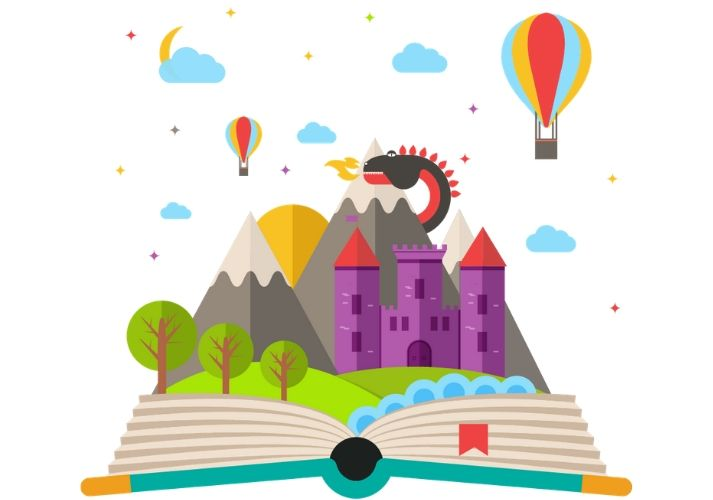 Once Upon a Time ... I Wrote a Fairy Tale Educational Resources K12 Learning