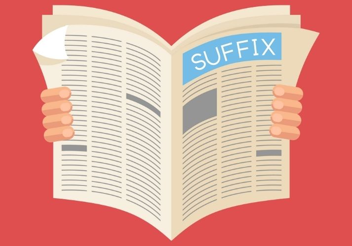 Suffix, Suffix: Read All About It! Educational Resources K12 Learning